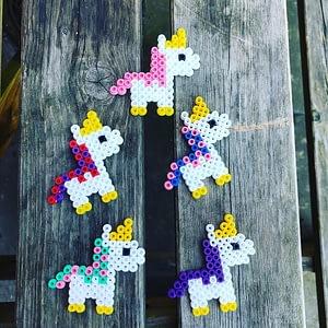 Fridge Magnet: Cosmic Vegan Unicorn -charity