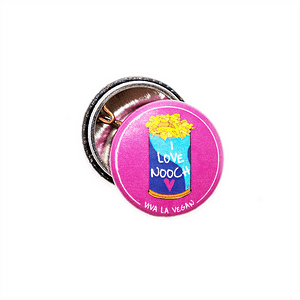 25mm Statement Badge: I Love Nooch