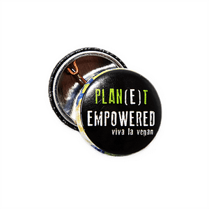 25mm Statement Badge: Planet Empowered