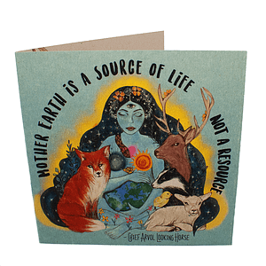 Greetings Card: Mother Earth