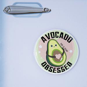 Fridge Magnet: Avocado Obsessed