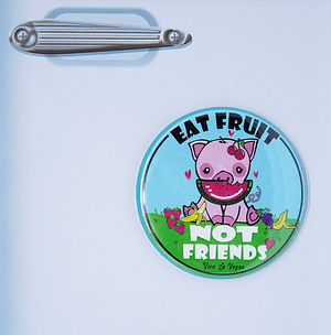 Fridge Magnet: Friends Not Fruit