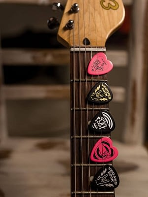 Statement Plectrums To Rock With