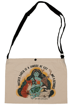 Mother Nature Musette bag