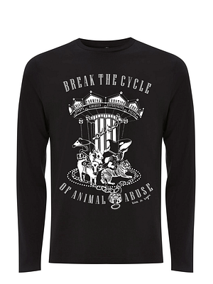 Unisex Tshirt : Break The Cycle LONG SLEEVE
