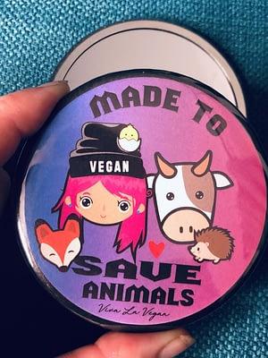 Pocket Mirror : Made To Save Animals