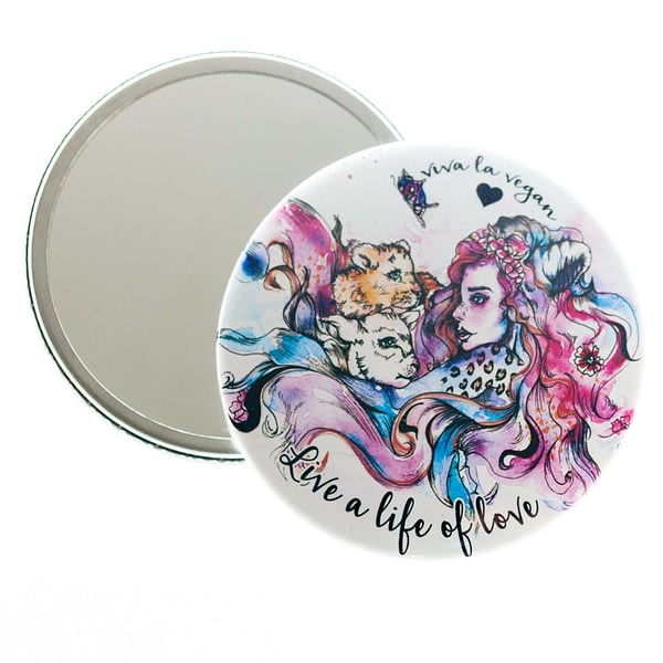 Pocket Mirror : Live A life of Love