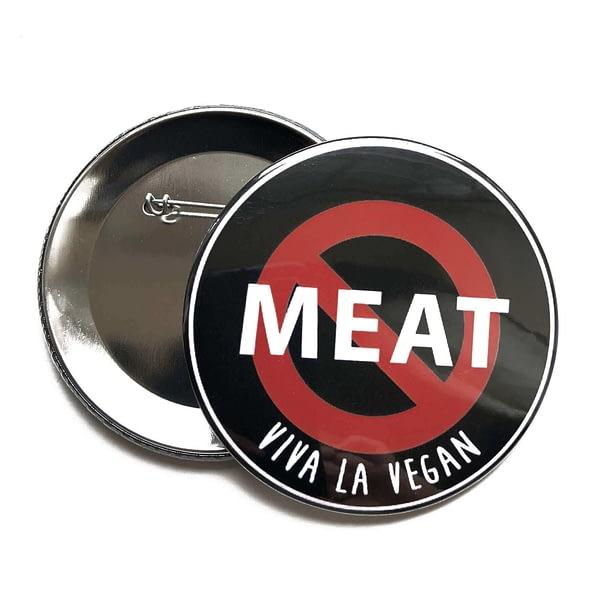 76 mm Big Impact Badge: No Meat