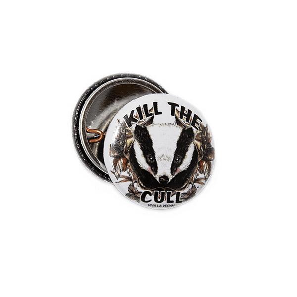 25mm Statement Badge: Kill The Cull