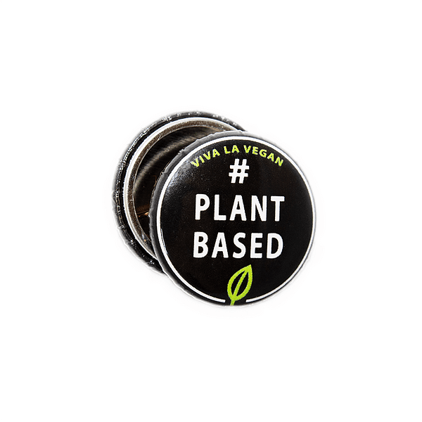 25mm Statement Badge: Plant Based
