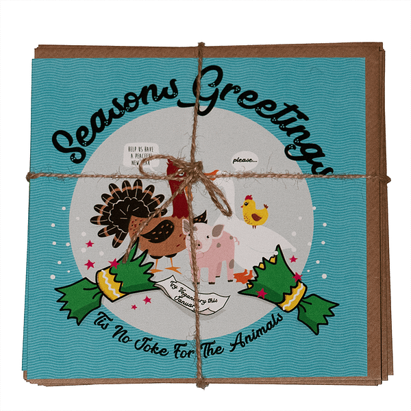 Christmas Greetings Cards : Pack of 6
